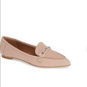 BP | kelin flat loafer blush leather 7